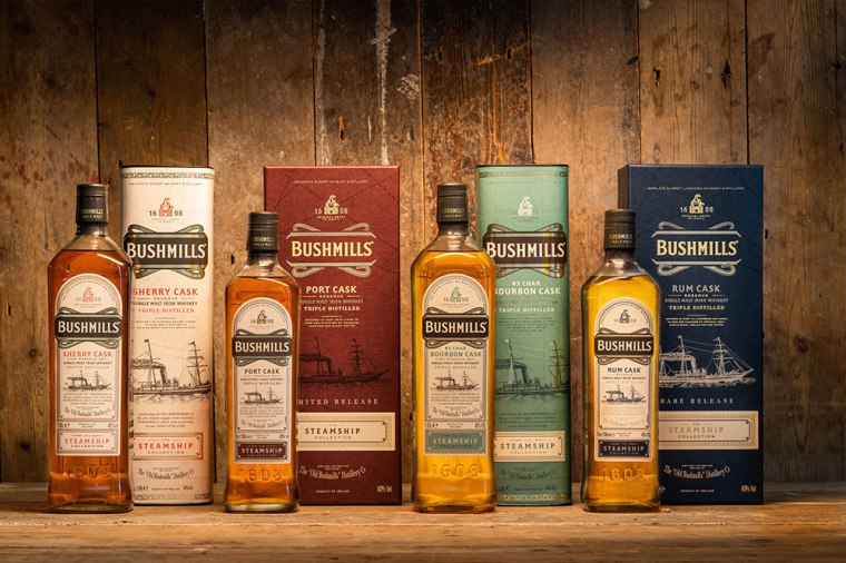 Bushmills-Steamship-collection-family-shot