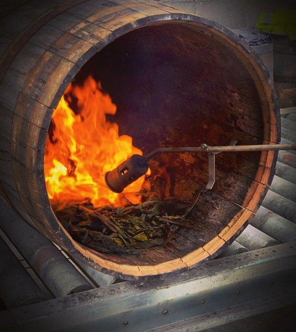 Currach charring